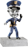 Bobble Head Policeman Trophy