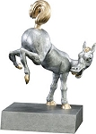 Bobble Butt Donkey Trophy